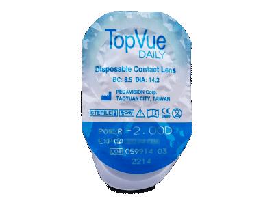 TopVue Daily (10lentillas) - Previsualización del blister