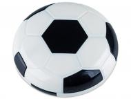 Estuche de lentillas con espejo - Estuche de lentillas Fútbol - Negro