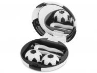 Accesorios para lentes de contacto - Estuche de lentillas Fútbol - Negro
