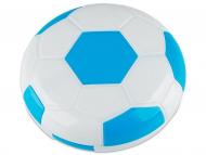 Estuche de lentillas con espejo - Estuche de lentillas Fútbol - Azul