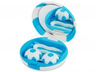 Accesorios para lentes de contacto - Estuche de lentillas Fútbol - Azul