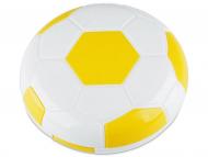 Estuche de lentillas con espejo - Estuche de lentillas Fútbol - Amarillo