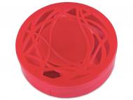 Estuche de lentillas con espejo - Estuche de lentillas con ornamento - Rojo