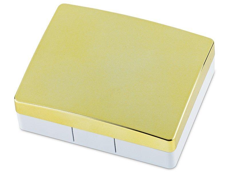 Estuche de lentillas elegante - amarillo  - Estuche de lentillas elegante - amarillo