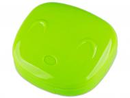 Accesorios para lentes de contacto - Estuche de lentillas con Cara - Verde