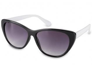Gafas de sol Cat Eye - Gafas de sol OutWear - Negro/Blanco