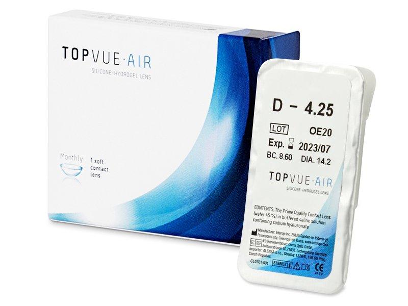 TopVue Air (1 Lentilla) - Previsualización del blister