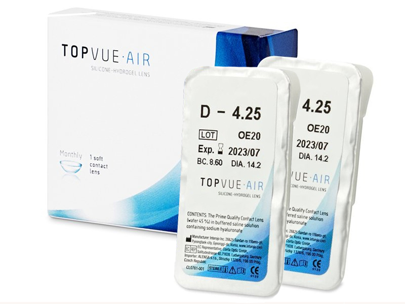 TopVue Air 1+1 lentilla