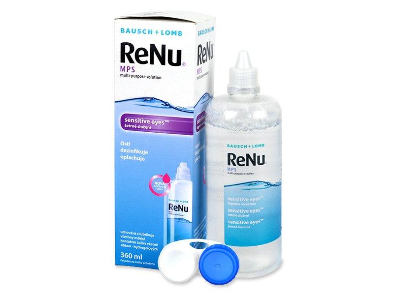 75132b086baf6 Líquido ReNu MPS Sensitive Eyes 360 ml - líquido de limpieza