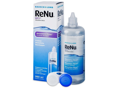 Líquido ReNu MPS Sensitive Eyes 360 ml  - Diseño antiguo