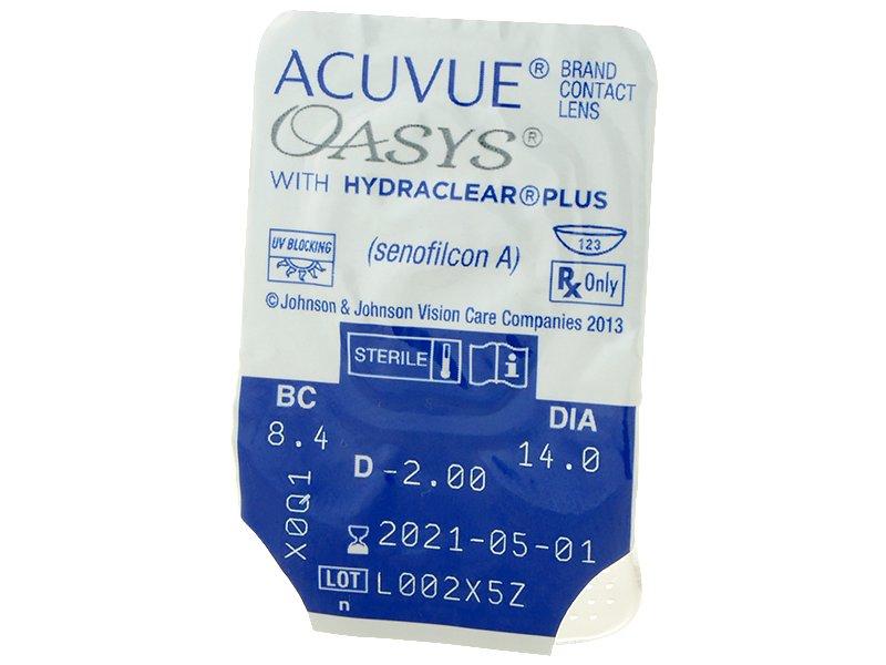 Acuvue Oasys (24Lentillas) - Previsualización del blister