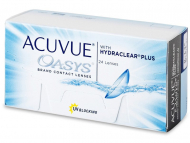 Lentillas Johnson and Johnson - Acuvue Oasys (24 Lentillas)