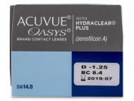 Acuvue Oasys (24Lentillas) - Previsualización de atributos