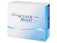 Lentillas Johnson and Johnson - 1 Day Acuvue Moist (180 Lentillas)