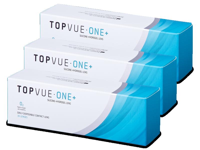 TopVue One+ (90 lentillas) - Lentillas diarias desechables