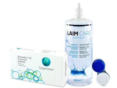 Biomedics 55 Evolution (6 Lentillas) +LíquidoLaim-Care 400 ml
