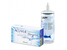 Acuvue Oasys for Astigmatism (12 lentillas) + Líquido Laim-Care 400 ml
