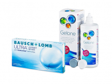 Bausch + Lomb ULTRA (6 lentillas) + Líquido Gelone 360 ml