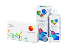 Proclear Multifocal (3 lentillas) + Líquido Gelone 360 ml
