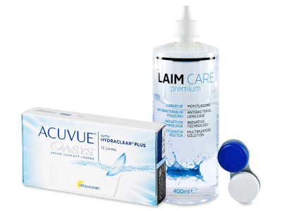 Acuvue Oasys (12 Lentillas) + Laim Care 400 ml