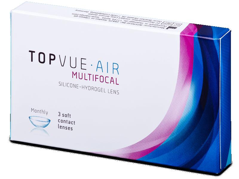 TopVue Air Multifocal (3lentillas) - Lentes de contacto multifocales