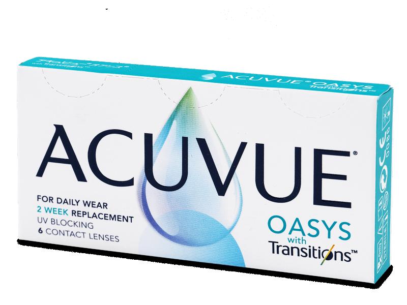 Acuvue Oasys with Transitions (6 lentillas) - Lentillas quincenales
