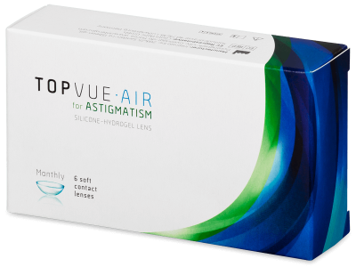 TopVue Air for Astigmatism (6lentillas)