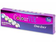 Lentillas Maxvue Vision - ColourVue One Day TruBlends Rainbow (10 lentillas)