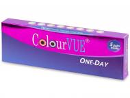 Lentillas Maxvue Vision - ColourVue One Day TruBlends - Graduadas (10 lentillas)