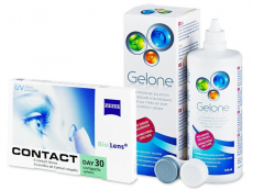 Carl Zeiss Contact Day 30 Compatic (6 lentillas) + Líquido Gelone 360 ml