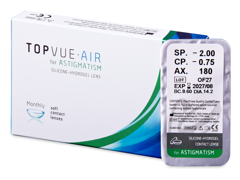 TopVue Air for Astigmatism (1 lentilla)