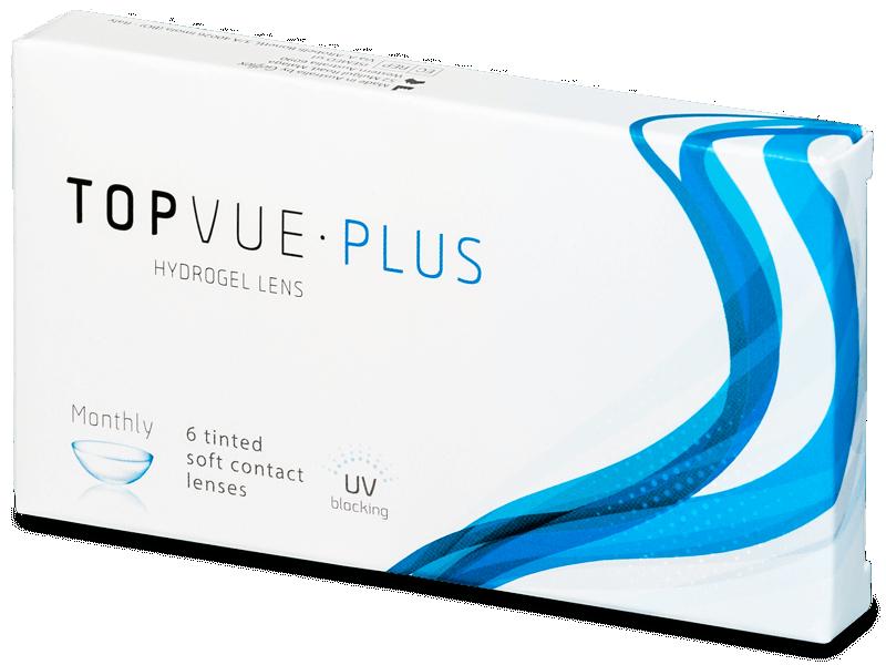 TopVue Monthly Plus (6lentillas) - Lentes de contacto mensuales