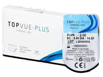 TopVue Monthly Plus (1lentilla) - Lentes de contacto mensuales