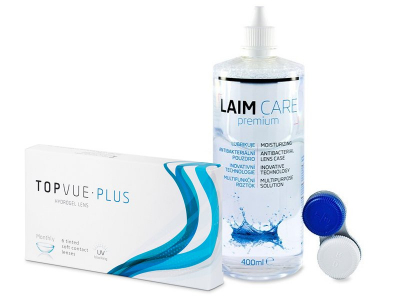 TopVue Monthly Plus (6 Lentillas) + Líquido Laim-Care 400 ml