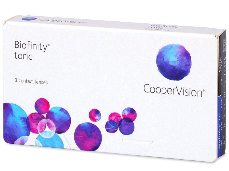 Biofinity Toric (3lentillas) - Lentillas tóricas