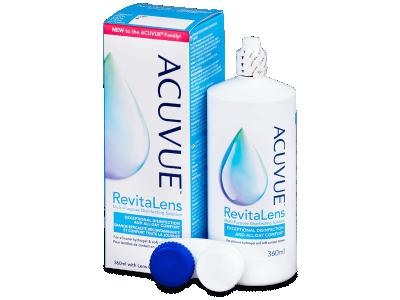 Líquido de limpieza Acuvue RevitaLens 360 ml