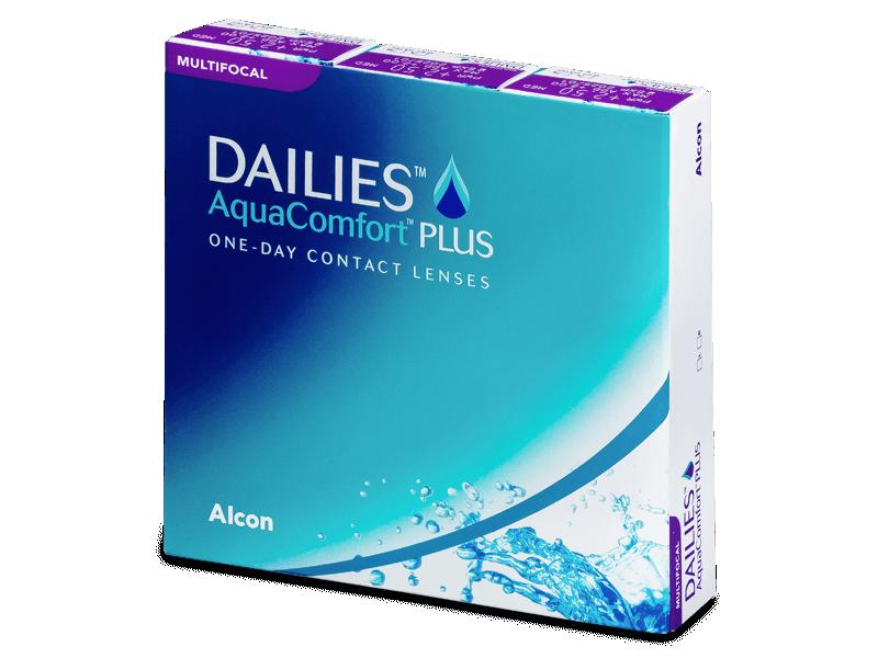 Dailies AquaComfort Plus Multifocal (90lentillas) - Lentes de contacto multifocales