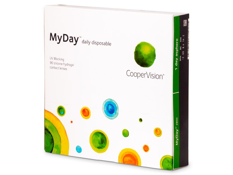 MyDay daily disposable (90 lentillas) - Lentillas diarias desechables