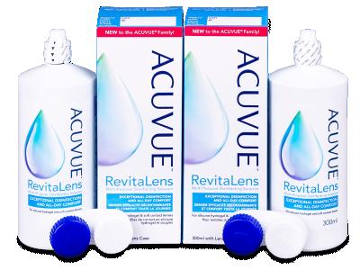 Líquido de limpieza  Acuvue RevitaLens 2x 300 ml