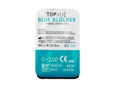 TopVue Blue Blocker (30 lentillas) - Previsualización del blister