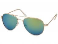 Gafas de sol Piloto / Aviador - Gafas de sol Gold Aviator - Azul/Verde