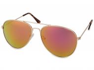 Gafas de sol Piloto / Aviador - Gafas de sol Gold Aviator - Rosa/Naraja