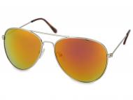 Gafas de sol Silver Aviator - Rosa/Naranja