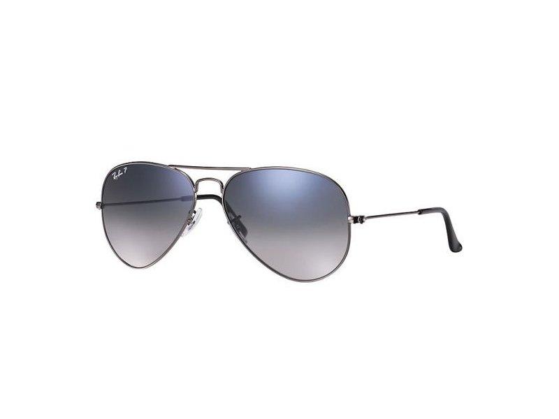 Gafas de sol Ray-Ban Aviator plata con lentes azules   Lentes-de ...