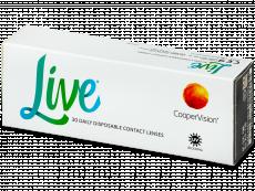 Live Daily Disposable (30 lentillas) - Lentillas diarias desechables