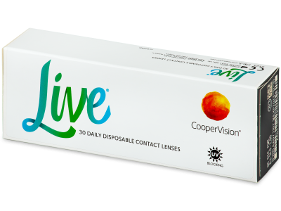 Live Daily Disposable (30 lentillas)