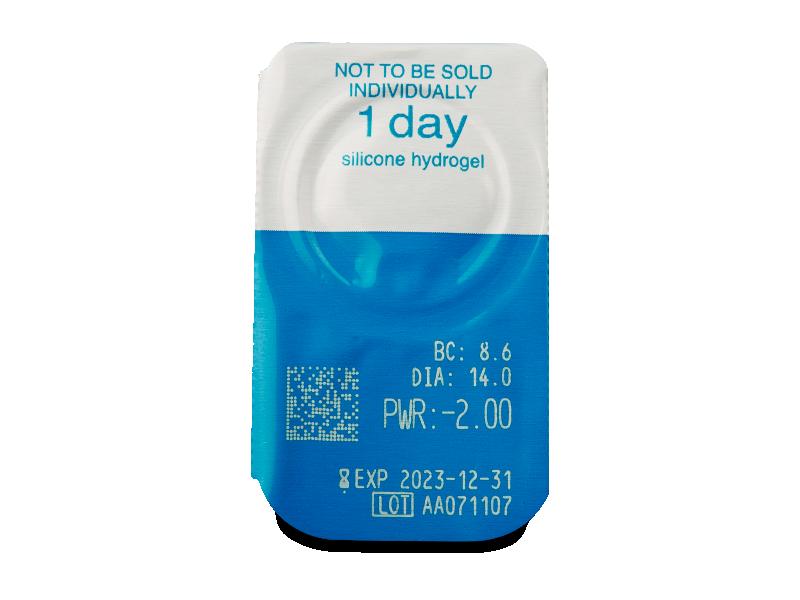 Live Daily Disposable (30 lentillas) - Previsualización del blister