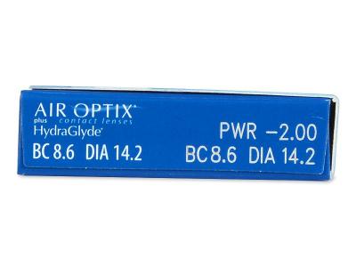 Air Optix plus HydraGlyde (6 lentillas) - Previsualización de atributos