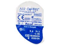 Air Optix plus HydraGlyde (6 lentillas) - Previsualización del blister
