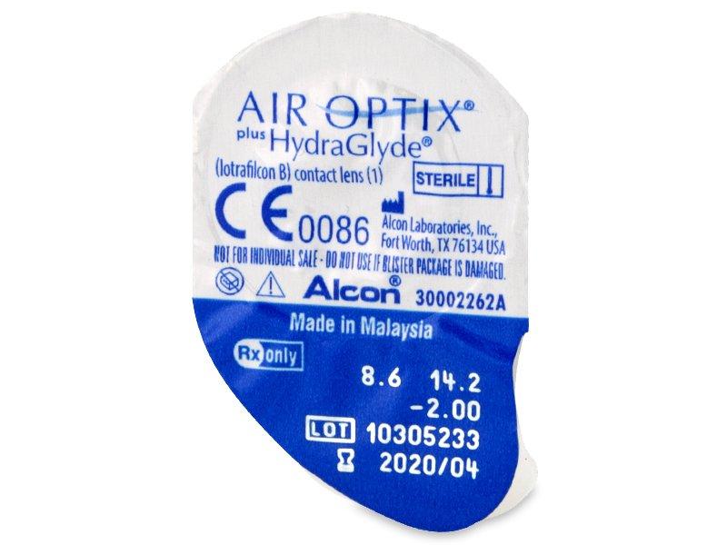 133acbc249df9 Air Optix plus HydraGlyde (3 lentillas) - Previsualización del blister